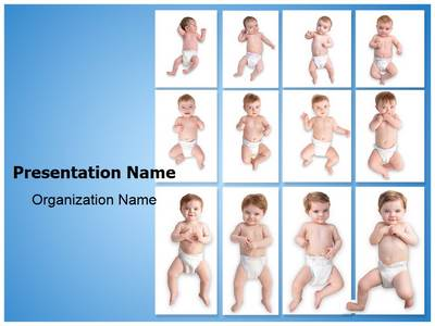 Child Development Stages Editable PowerPoint Template