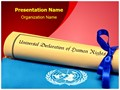Human Rights Editable PowerPoint Template