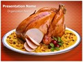 Roasted Chicken Editable PowerPoint Template