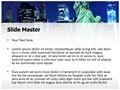 Manhattan Skyline Editable PowerPoint Template