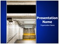 New York Subway Editable PowerPoint Template