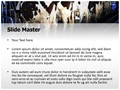 Cow Milking Factory Editable PowerPoint Template