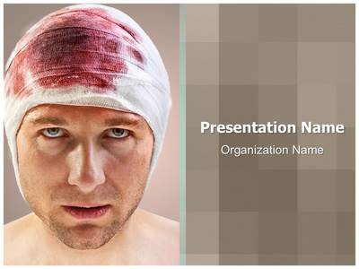 Head Wound Editable PowerPoint Template