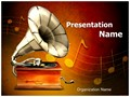 Gramophone Editable PowerPoint Template