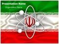 Iranian Nuclear Program Editable PowerPoint Template