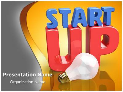 Startup Innovating Idea Editable PowerPoint Template
