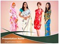 Asian Women Editable PowerPoint Template