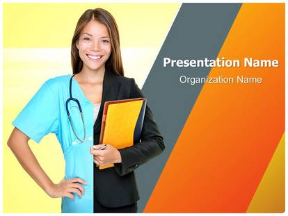 Free Career Choice Medical Powerpoint Template For Medical