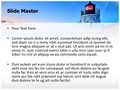 Lighthouse Castle Editable PowerPoint Template