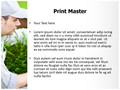Gardener Editable PowerPoint Template