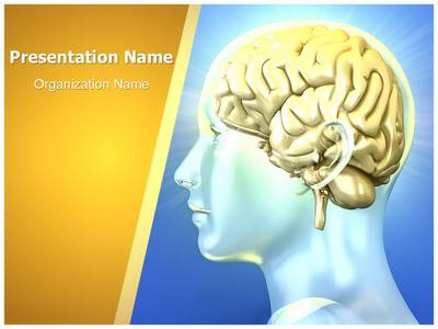 Human Brain Editable PowerPoint Template
