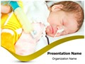 Preterm Newborn Editable PowerPoint Template