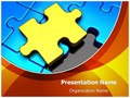 Puzzle Piece Missing Editable PowerPoint Template