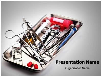 Surgery Instrument Editable PowerPoint Template