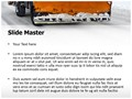 Snow Plow Truck Editable PowerPoint Template