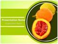 Sweet Gourd Editable PowerPoint Template