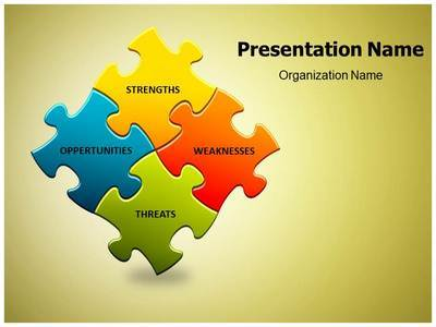 Swot Editable PowerPoint Template