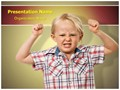 Child Oppositional Defiant Disorder Editable PowerPoint Template