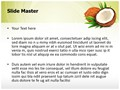 Coconuts Editable PowerPoint Template