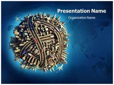 Transport Editable PowerPoint Template