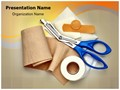 Bandaging Taping Editable PowerPoint Template