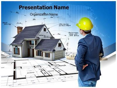 Home Architect Editable PowerPoint Template