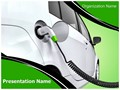 Electric Car Editable PowerPoint Template