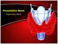 Thyroid Gland Goiter Editable PowerPoint Template