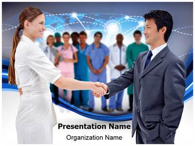 Medical Brain Drain Editable PowerPoint Template