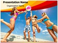 Beach Fun Editable PowerPoint Template