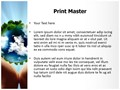 Save Planet Earth Editable PowerPoint Template