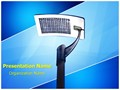 Solar Panel Light Editable PowerPoint Template