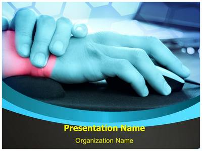 Mouse Pads Editable PowerPoint Template
