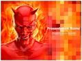 Satan Devil Editable PowerPoint Template