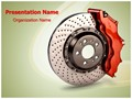 Disk Brake Editable PowerPoint Template