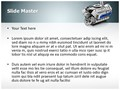 Automobile Engine Editable PowerPoint Template