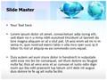 Blue Sapphire Diamond Editable PowerPoint Template