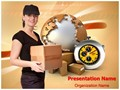 Parcel Delivery Editable PowerPoint Template