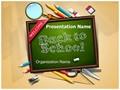 School Education Editable PowerPoint Template
