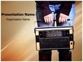 Vintage Radio Music Editable PowerPoint Template