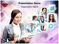 Team Communication Editable PowerPoint Template