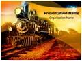 Steam Engine Editable PowerPoint Template