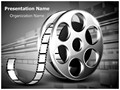 Film Reel Editable PowerPoint Template