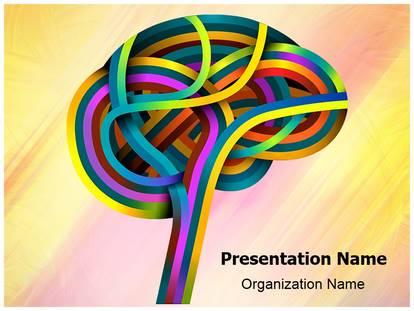 Free neurology science medical powerpoint template for medical neurology science powerpoint template toneelgroepblik Gallery