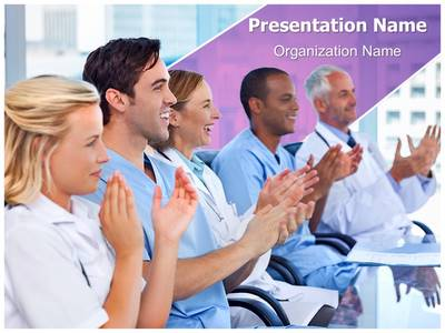 Medical Conference Editable PowerPoint Template
