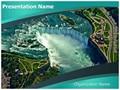 Niagara Falls Editable PowerPoint Template