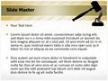 Crime Punishment Editable PowerPoint Template