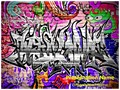 Graffiti Urban Art Editable PowerPoint Template