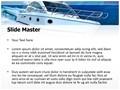Powerboat Editable PowerPoint Template