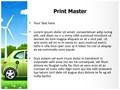 Hybrid Car Editable PowerPoint Template